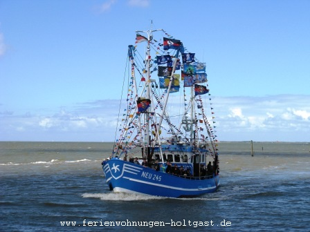Kutterregatta in Neuharlingersiel